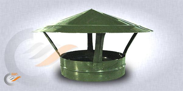 Вентиляционный зонт грибок круглого сечения