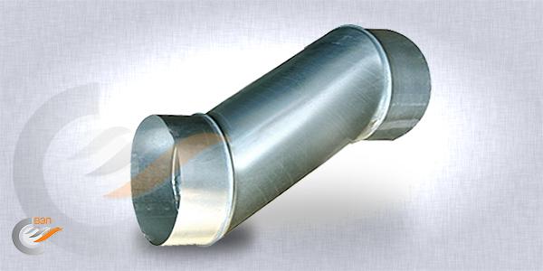 Утки вентиляционные для круглых воздуховодов