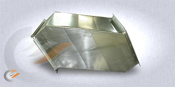 Утки для прямоугольных воздуховодов