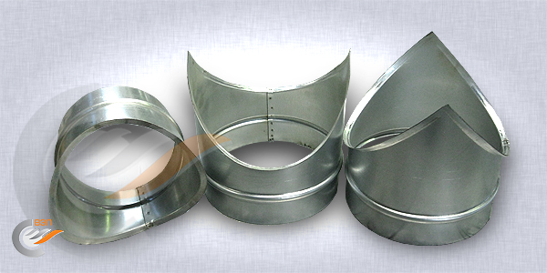 Врезка вентиляционная круглая для стыковки воздуховодов